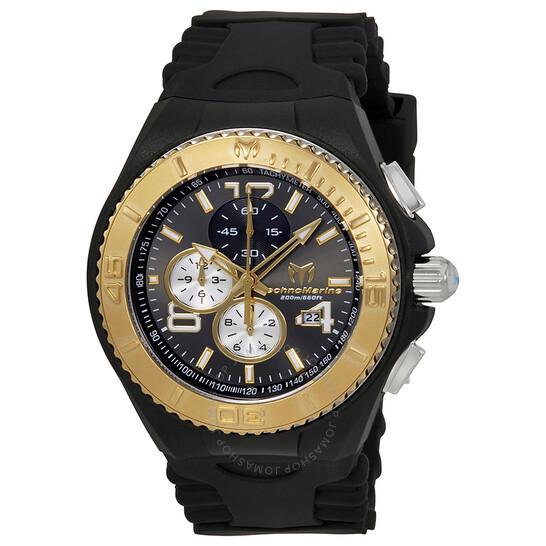 Technomarine Cruise JellyFish Dark Grey Dial Men's Watch 115149 | Joma Shop