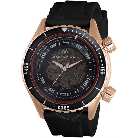 Technomarine Dual Zone Automatic Men's Watch TM-218006 | Joma Shop