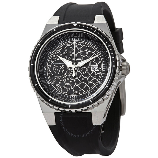Technomarine Easycell Technocell Quartz Black Dial Men's Watch TM-318052 | Joma Shop