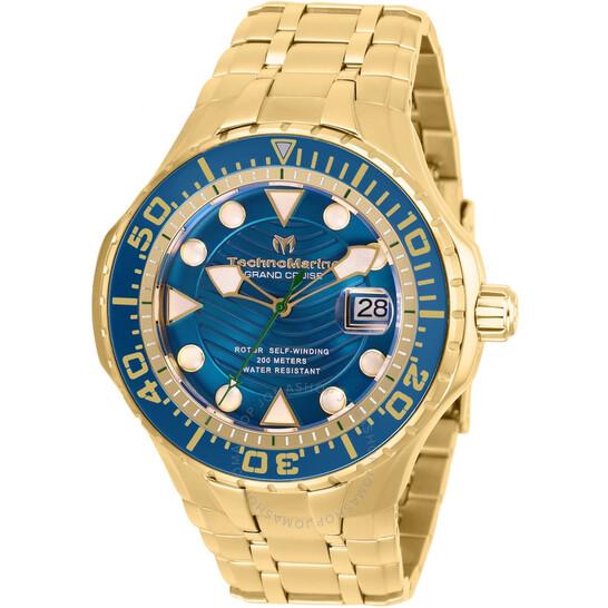 Technomarine Grand Cruise Automatic Blue Dial Men's Watch TM-118075 | Joma Shop