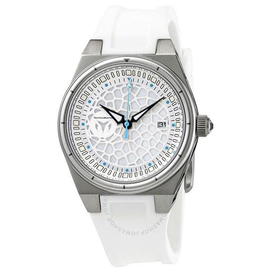 Technomarine Technocell Quartz White Dial Ladies Watch TM-318077 | Joma Shop