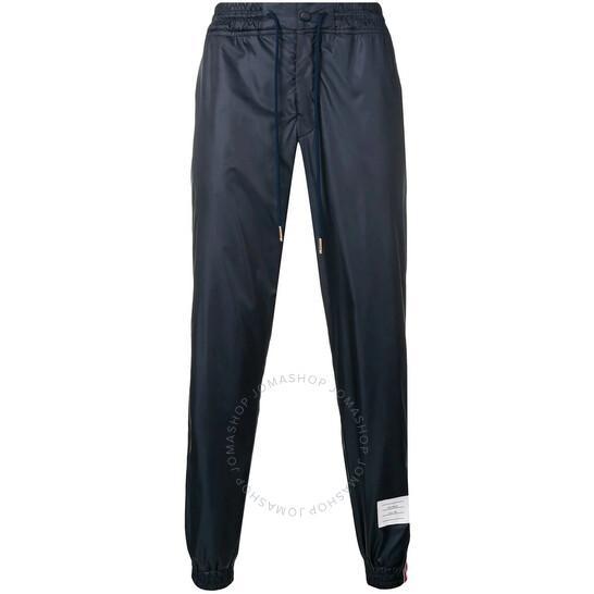 Thom Browne Blue Rwb Stripe Ripstop Track Pants