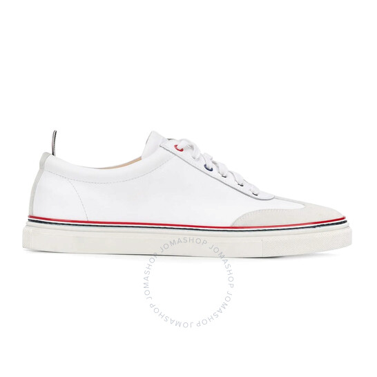 Thom Browne Low-top Rubber Calfskin Trainers, Brand Size 9.5 | Joma Shop