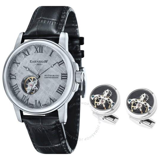 Thomas Earnshaw Beagle Automatic Grey Dial Men S Watch Es 0031 Seta 01 Es 0031 Seta 01 Watches Thomas Earnshaw Jomashop