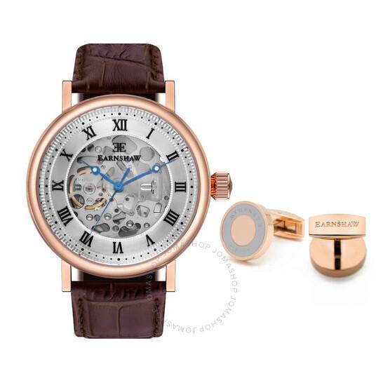 Thomas Earnshaw Beaufort Automatic White Dial Men's Watch ES-8806-SETA-02 | Joma Shop