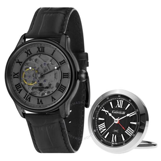Thomas Earnshaw Longitude Automatic Grey Dial Men's Watch ES-8807-SETA-03 | Joma Shop