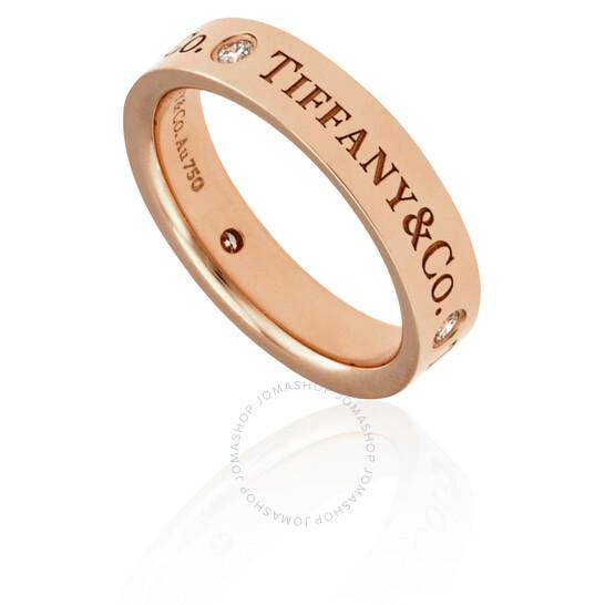 Tiffany & Co. & Co. 18K Rose Gold Band Ring- Size 10 1/2   Joma Shop