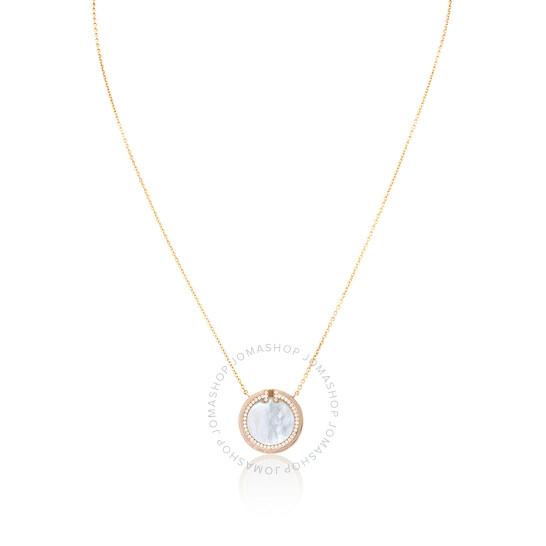 Tiffany & Co. Diamond and Mother-of-pearl Circle Pendant | Joma Shop