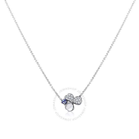 Tiffany & Co. Paper Flowers Diamond and Tanzanite Flower Pendant   Joma Shop