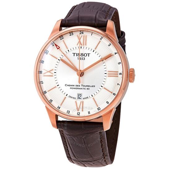 Tissot Chemin des Tourelles Automatic Silver Dial Men's Watch