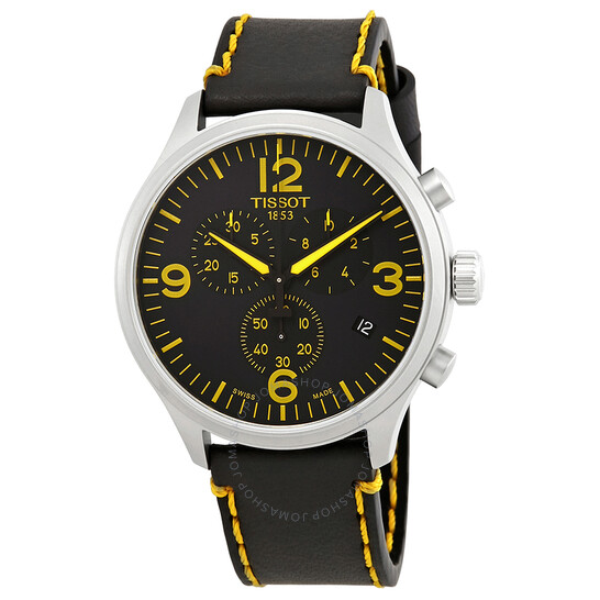 Tissot Classic Tour De France Chronograph Black Dial Men's Watch