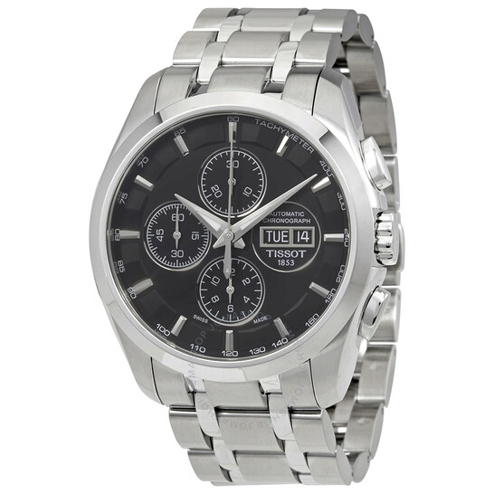 Tissot Couturier Automatic Chronograph Men's Watch T0356141105101   Joma Shop