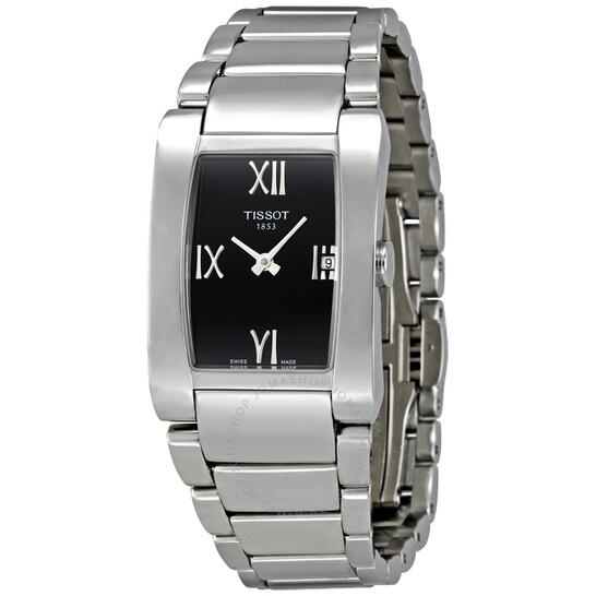 Tissot Generosi-T Black Dial Ladies Watch T0073091105300 | Joma Shop