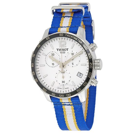 Tissot Quickster Golden State Warriors Chronograph Men's Watch T0954171703715 | Joma Shop