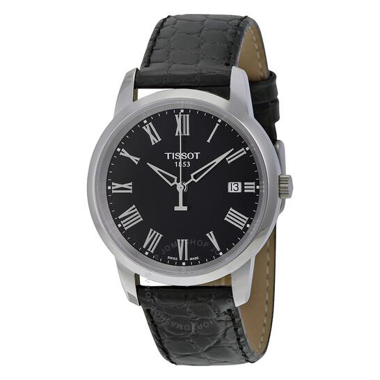 Tissot T-Classic Dream Black Dial Men's Watch T033.410.16.053.01   Joma Shop