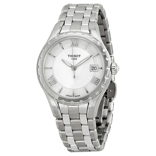 Tissot T-Lady Mother of Pearl Dial Ladies Watch T0722101111800   Joma Shop