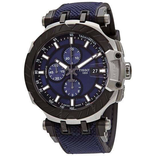 Tissot T-Race MotoGP Chronograph Automatic Blue Dial Men's Watch T1154272704100   Joma Shop