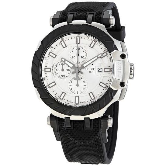 Tissot T-Race MotoGP Chronograph Automatic Silver Dial Men's Watch T1154272703100 | Joma Shop