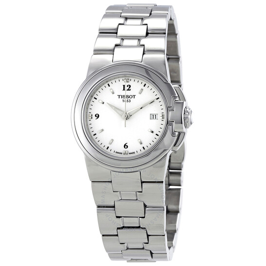Tissot T-Sport White Dial Stainless Steel Ladies Watch T0802101101700 | Joma Shop