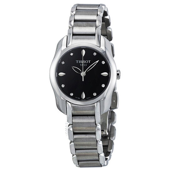 Tissot T-Wave Black Dial Ladies Watch T023.210.11.056.00 | Joma Shop