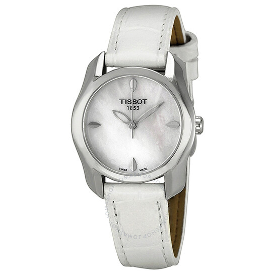 Tissot T-Wave Mother of Pearl Dial Ladies Watch T023.210.16.111.00 | Joma Shop