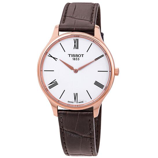 Tissot Tradition 5.5 White Dial Men's Watch (T063.409.36.018.00)