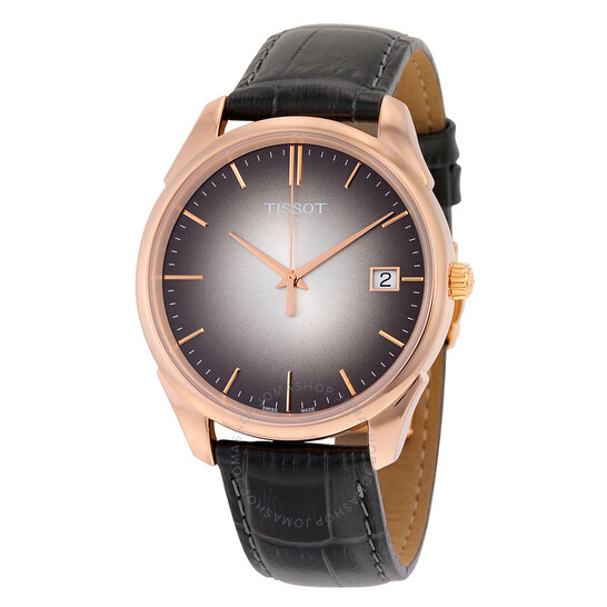 Tissot Vintage Black Dial Black Leather Men's Watch T9204107606100 | Joma Shop