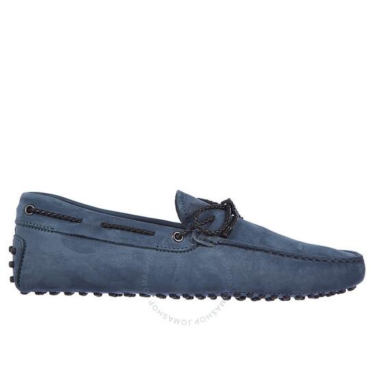 Tod's Men's Drivers Blue Laccetto Gommini Sd, Brand Size 6.5 UK (US Size 7.5) | Joma Shop