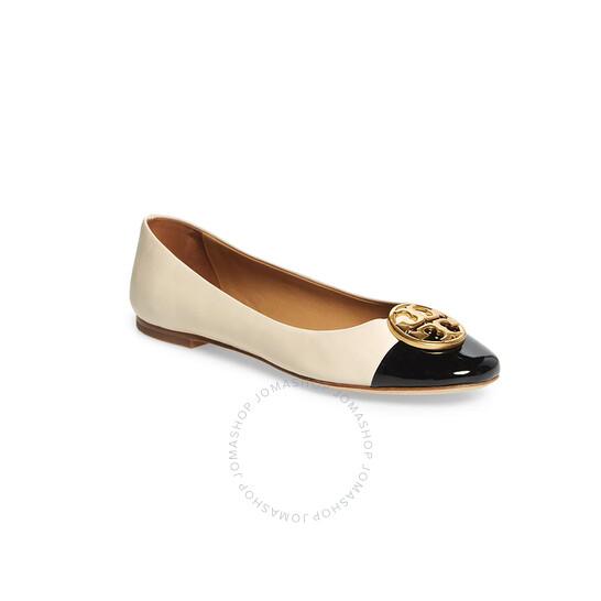 Tory Burch Chelsea Cap-Toe Ballet Flats, Brand Size 5.5 | Joma Shop