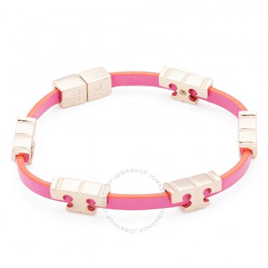 Tory Burch Multicolor Serif-T Single Wrap Bracelet | Joma Shop