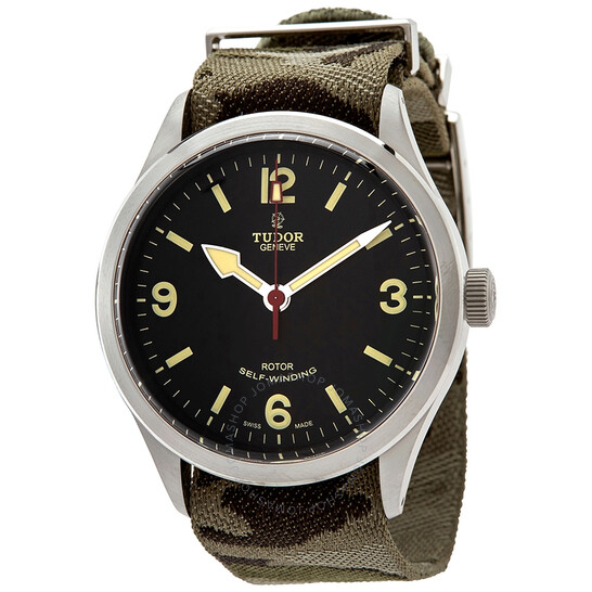 Tudor Heritage Ranger Automatic 41 mm Black Dial Men's Watch M79910-0009   Joma Shop