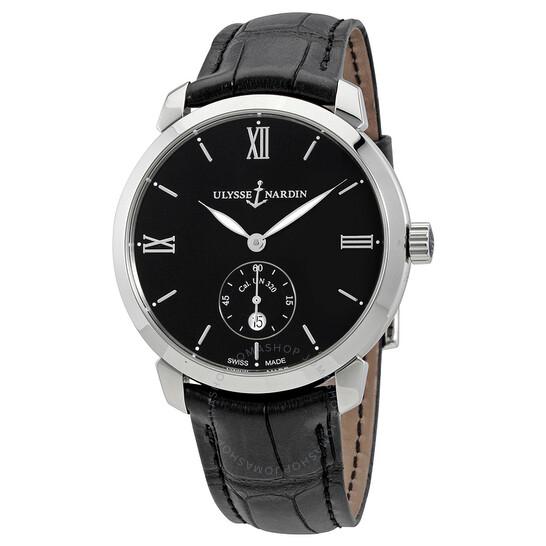 Ulysse Nardin Classico Automatic Black Dial Men's Watch 3203-136-2/32   Joma Shop