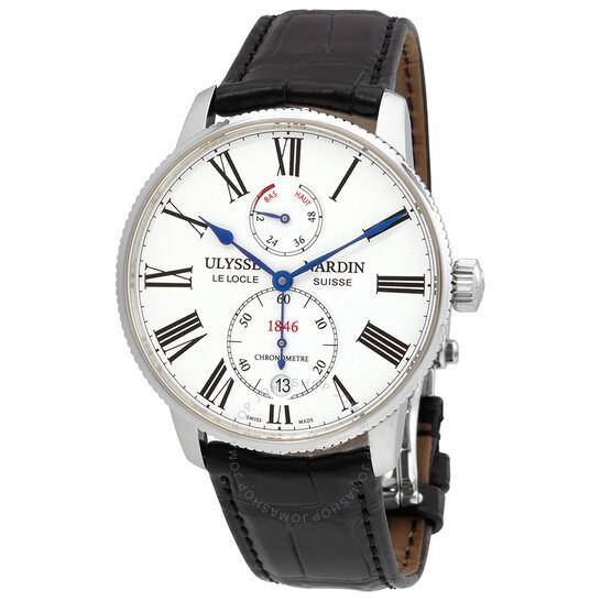 Ulysse Nardin Marine Chronometer Automatic Men's Watch 1183-310/40 | Joma Shop