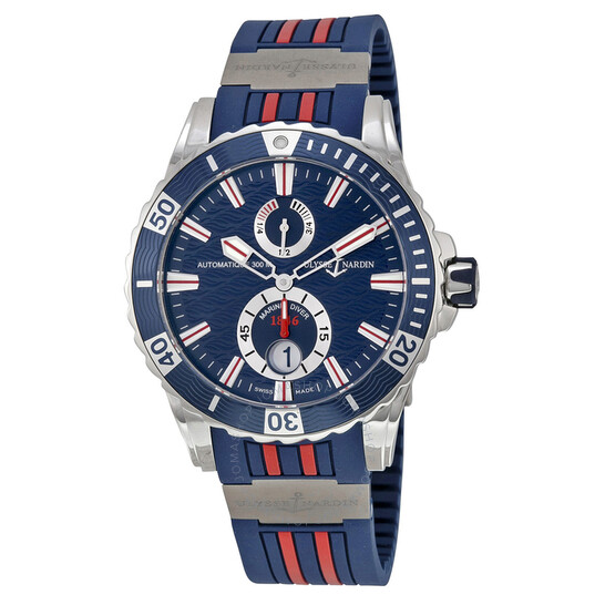 Ulysse Nardin Maxi Marine Diver Blue Dial Men's Watch 263-10-3R-93 | Joma Shop