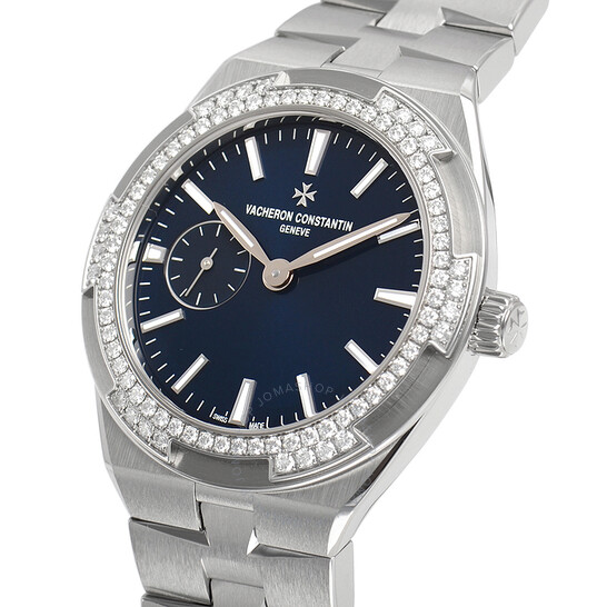 Vacheron Constantin Overseas Blue Lacquered Dial Ladies Automatic Steel Watch 2305V/100A-B170 | Joma Shop