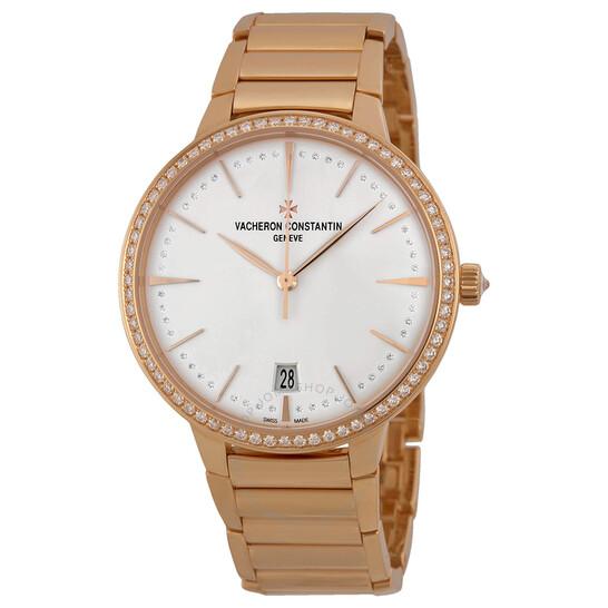 Vacheron Constantin Patrimony Contemporaine Silver Dial 18kt Rose Gold Ladies Watch 85515CA1R-9840 | Joma Shop