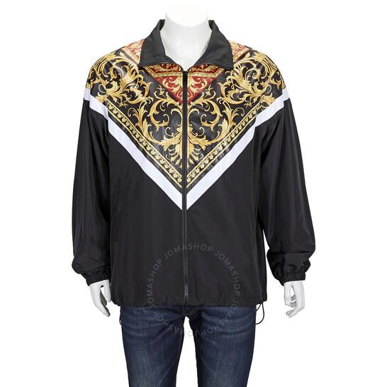 Versace Mens The Pop Classic Baroque Print Jacket