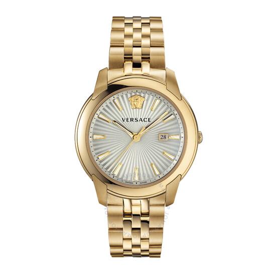 Versace V-Urban Quartz Champagne Dial Men's Watch (VELQ00719)