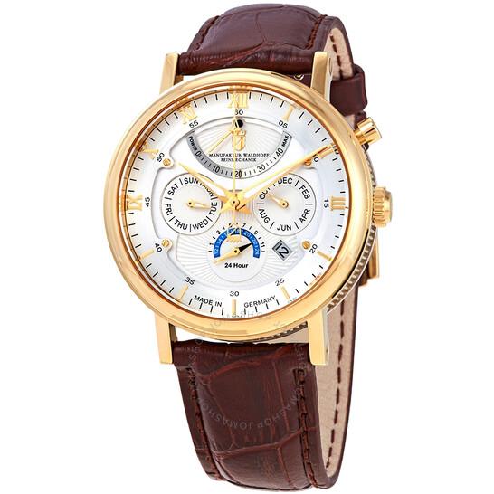 Waldhoff Multimatic Silver Dial Men's Watch MWF-03-GG-01-WBR   Joma Shop