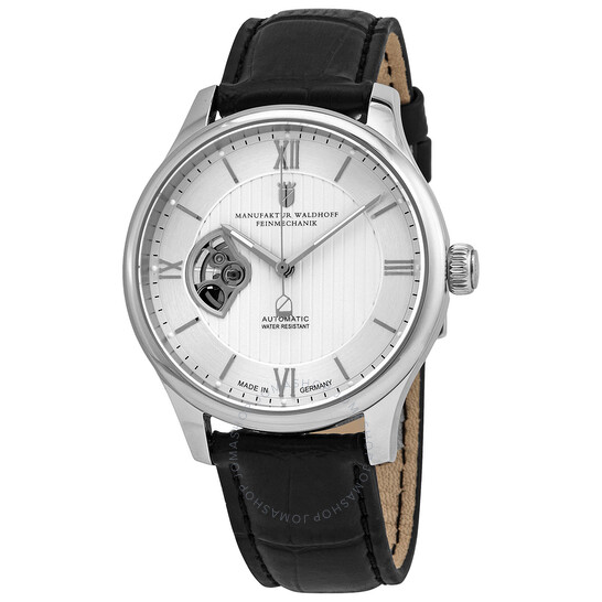 Waldhoff Regent Automatic Silver Dial Men's Watch Waldhoff Regent Diamond Silver 02A | Joma Shop