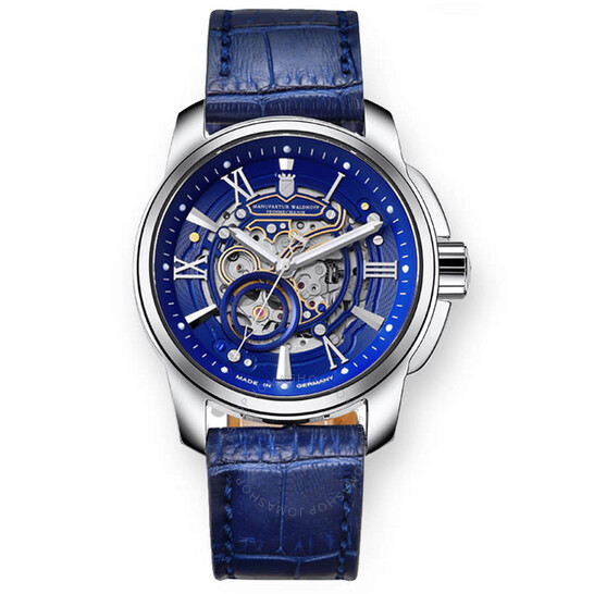 Waldhoff Republic Royal Blue Automatic Blue Dial Men's Watch 04B   Joma Shop