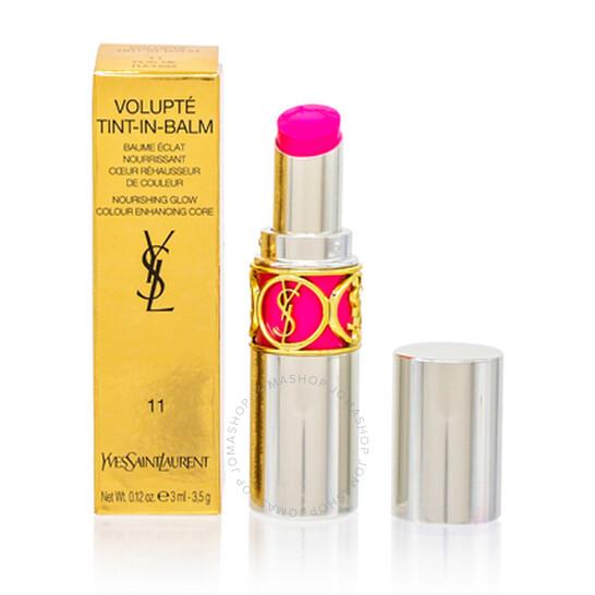 Ysl / Volupte Tint-in-balm (11) Play Me Fuchsia Lipstick 0.15 oz (4 ml) | Joma Shop