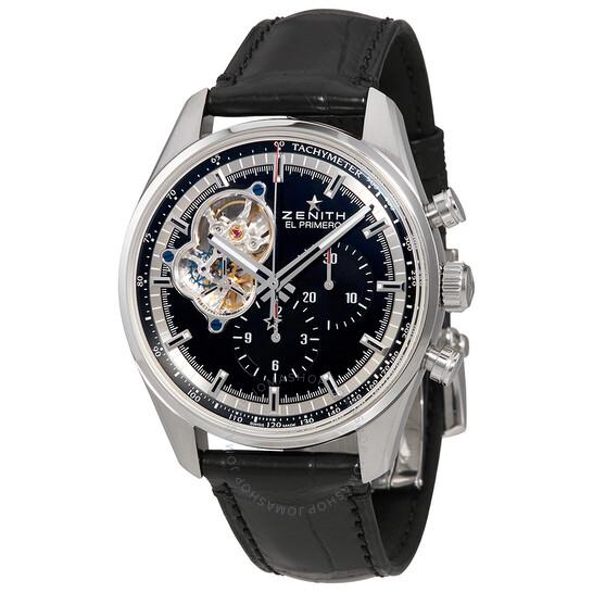 Zenith Chronomaster El Primero Automatic Chronograph Black Dial Men's Watch 03.2040.4061/21.C496   Joma Shop