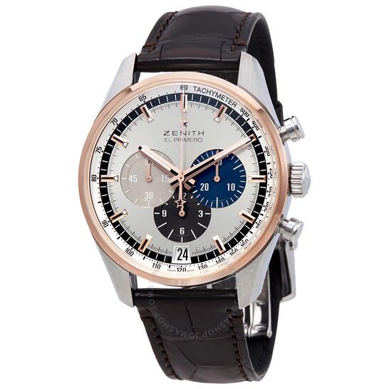 Zenith Chronomaster El Primero Chronograph Automatic Silver Dial Men's Watch 51.2080.400/69.C494 | Joma Shop