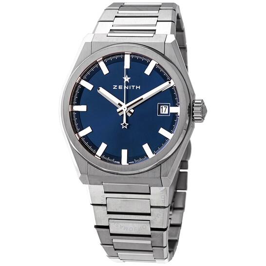 Zenith Defy Classic Automatic Blue Dial Titanium Men's Watch 95.9000.670/51.M9000 | Joma Shop