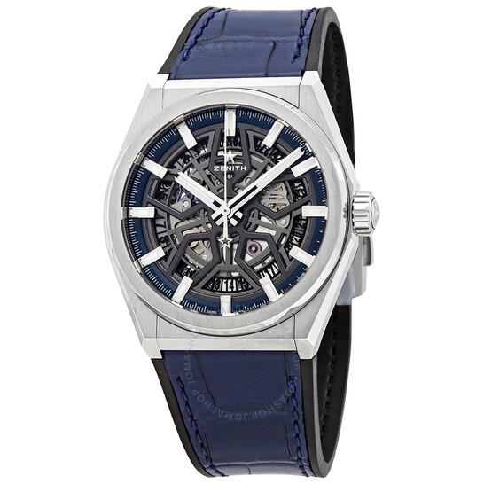 Zenith Defy Classic Automatic Skeletal Dial Titanium Men's Watch 95.9000.670/78.R584   Joma Shop