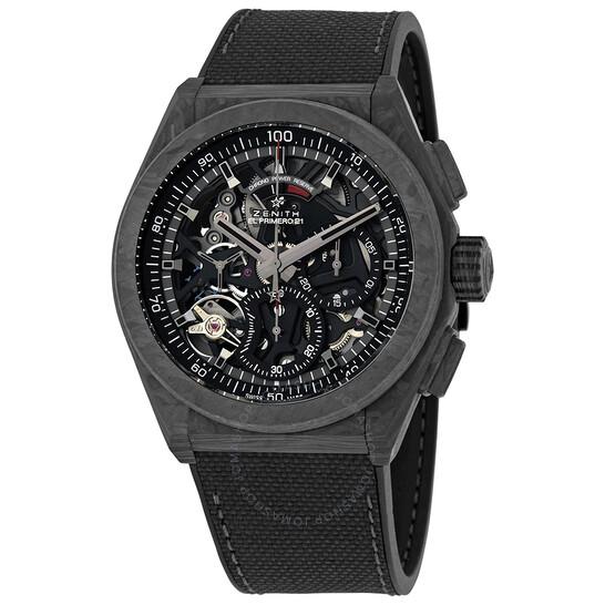 Zenith Defy El Primero 21 Chronograph Automatic Power Reserve Men's Watch 10.9000.9004/96.R921   Joma Shop