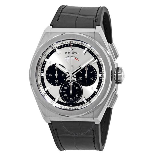 Zenith Defy El Primero 21 Chronograph Automatic Silver Dial Titanium Men's Watch 95.9001.9004/01.R582 | Joma Shop