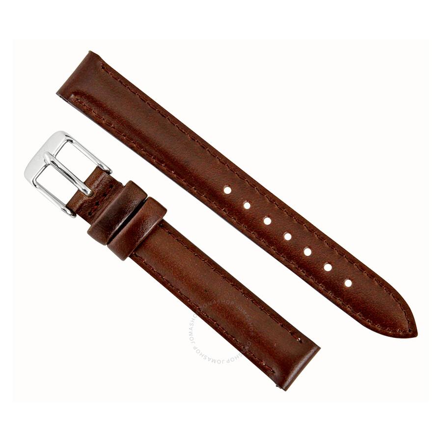 daniel wellington bristol 13mm brown leather watch strap. Black Bedroom Furniture Sets. Home Design Ideas