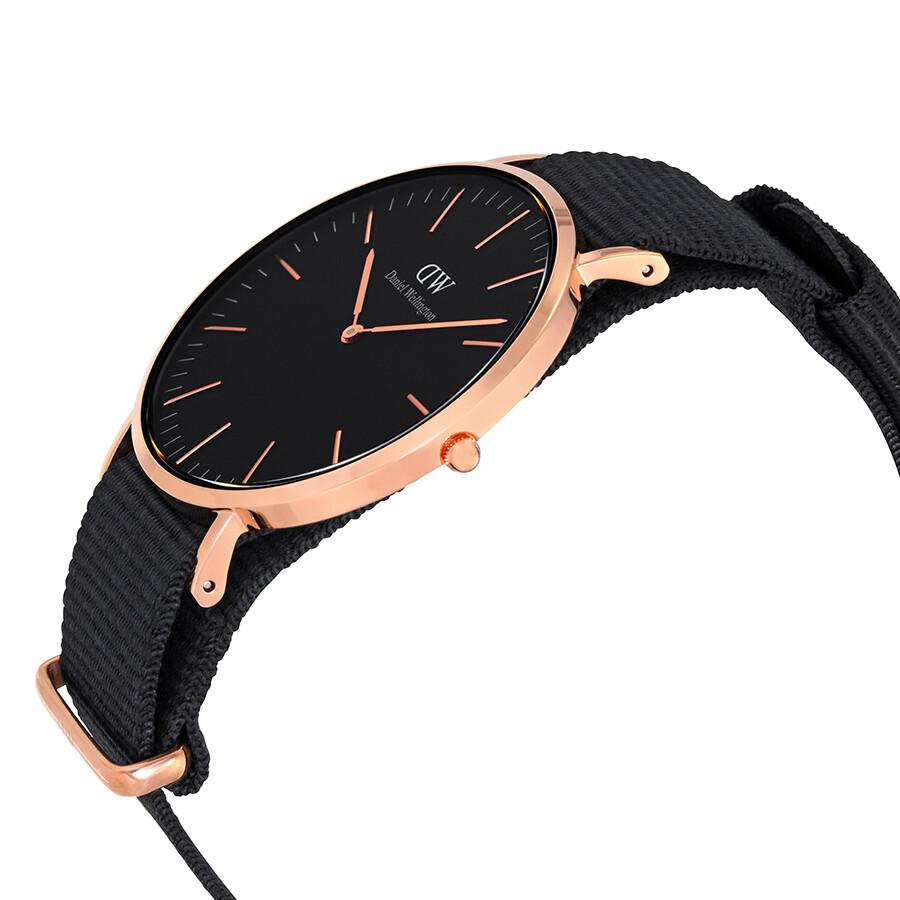 Daniel Wellington Classic Black Cornwall Watch DW00100148 Daniel Wellington Classic Black Cornwall Watch DW00100148 ...